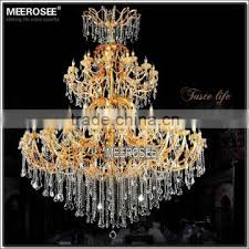 diameter 2 2 meter 91 lights golden hotel extra large crystal chandelier for projects md88601 l91