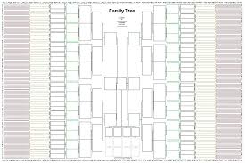 Family Tree Template For Excel 11 Generation Meaning In