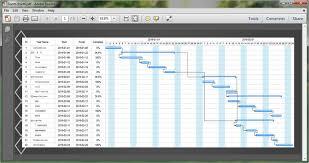Gantt Chart Excel Pdf Create Gantt Chart For Pdf