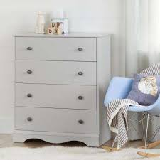 gray kids dresser. Interesting Kids Angel 4Drawer Soft Gray Chest Throughout Kids Dresser T