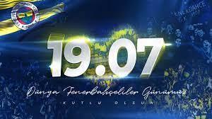 """Fenerbahçe SK on Twitter: """"Işık sensin, umut sensin, sevdam sensin! 19.07 Dünya  Fenerbahçeliler Günümüz kutlu olsun.💛💙 #DünyaFenerbahçelilerGünü…  https://t.co/BSIMW2HNjX"""""""