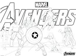 Printable Avengers Coloring Pages Free Avengers Coloring Pages