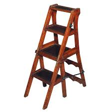 library step stool antique folding library steps chair at antique folding library steps chair for library step stool plans free
