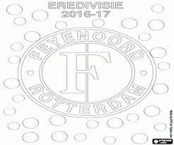 Kleurplaat Feyenoord Rotterdam 2016 17 Kampioen Kleurplaten
