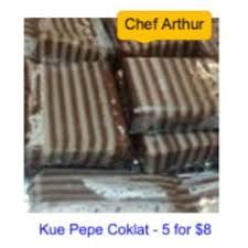 Arthur | Kue Pepe Coklat | Warung PSI
