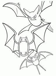 20 Golbat Pokemon Coloring Pages Ideas And Designs
