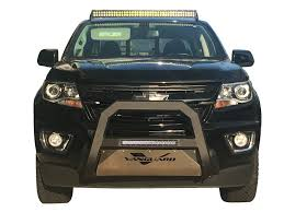 Ford Escape Light Bar 08 12 Ford Escape Optimus Series Led Bull Bar With Black Skid Plate