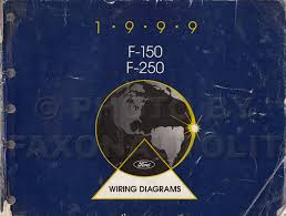 1999 ford f 150 f 250 wiring diagram manual original