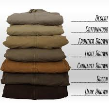 How To Choose Between Carhartts Different Browns