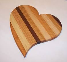 Heart Shape Cheese Cutting Board