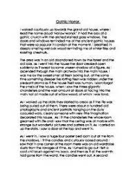 gothic literature essay edu essay