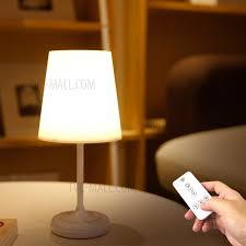 youoklight yk2311 remote control bedroom bedside led lamp touch control three gear dimming table lamp tvc mall com