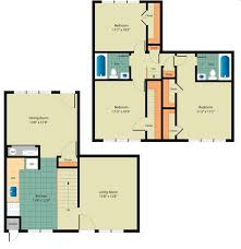 3BR/2BA   Whispering Woods Townhomes