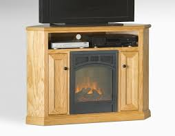 corner tv stand and fireplace complete small corner electric fireplace tv stand maple wood