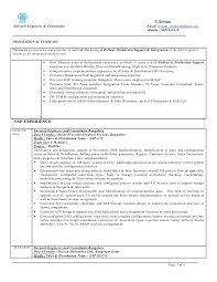 Gallery Of Sap Consultant Resume Format Resume Format Sap Cover