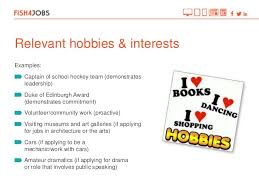 examples of hobbies and interests for job application tradinghub co