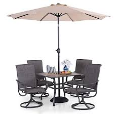 phi villa patio table and chairs