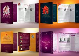 Church Program Template 5 Remarkable Mothers Day Church Program Templates Inspiks Market