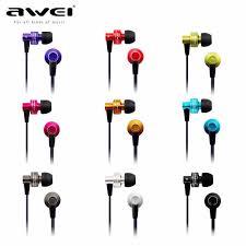 <b>Awei ES900i</b> In Ear Earphone earhud with remote mic for apple ...