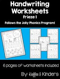 A collection of english esl worksheets for home learning, online practice, distance learning and english classes to teach about phonics, phonics. Jolly Phonic Tracing Letters And Activities Worksheets Tpt