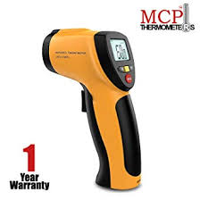 MCP <b>Non-contact Digital</b> Laser <b>Infrared</b> Thermometer with Back ...