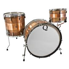 ... Alternate Image for Q Drum Co. Copper 3-Piece Drum Set Shell Pack ...