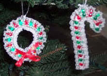 Wreaths  Wendy Brownu0027s Clipboard On  Candy Wreath Ribbon Candy Candy Cane Wreath Christmas Craft
