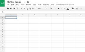 How to Create a Budget Template in Google Sheets (Pictures)