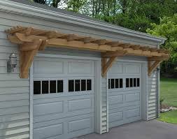 pergola design ideas garage kits rough cut cedar eyebrow