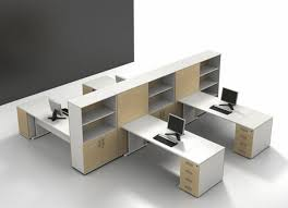 modern office space cool design. Sleek Modern Office Furniture Makes Stylish And Cool Atmosphere : Extravagant White Space Design