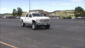 Lifted 2012 Chevy Silverado 1500 - Rapid City - YouTube