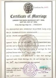 Marriage Certificate Attestation For Oman Embassy In Madangir New
