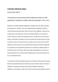 Personal Reflective Essays Examples 50 Best Reflective Essay Examples Topic Samples