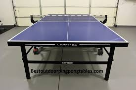 kettler champ outdoor ping pong table