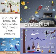 Evgie Wall Decals $150 Giveaway \u2014 Luv Saving Money