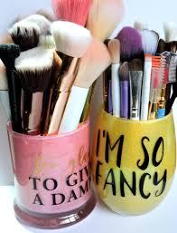 Etsy Makeup Brush Holders Review - Hand decorated