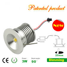 3w mini led spotlight with 110 or 220avc led driver recessed led spot light
