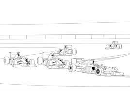 Formula 1 Racen Kleurplaat Gratis Kleurplaten Printen