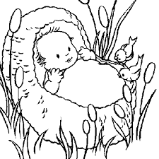 Small Picture Catholic Coloring Page Baby Moses Catholic Activities
