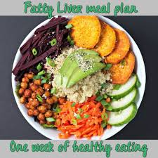 Weekly Meal Plan For Fatty Liver In 2019 Liver Diet Liver