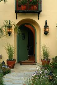Mediterranean outdoor lighting Commercial Exterior Mediterranean Outdoor Lighting Front Porch Lighting With Outdoor Wall Lights And Sconces Entry Beige Exterior Potted Spanish Mediterranean Outdoor Lighting The House Designers Mediterranean Outdoor Lighting Front Porch Lighting With Outdoor