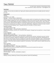 Cv Cleaner 147 Cleaning Services Cv Examples Installation And