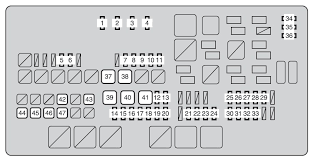toyota tundra second generation mk2 (from 2013) fuse box diagram 2008 toyota tundra fuse box diagram at Fuse Box Toyota Tundra 2007