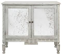 Uttermost Okorie Gray Console Cabinet - Farmhouse - Accent Chests ...