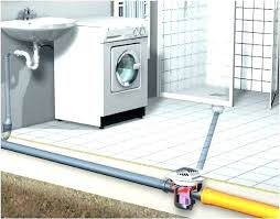 install shower base drain replacing shower drain in concrete floor installing installing shower tray waste maax