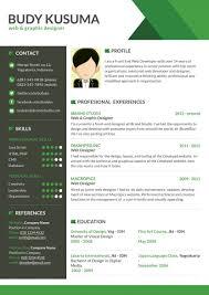 Free Modern Resume Template For Web Graphic Designer Psd F Saneme