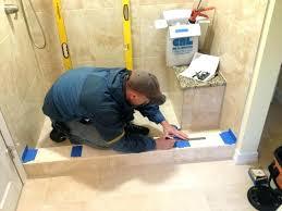 installing a glass shower door imposing ideas install glass shower door smart idea incredible decoration install