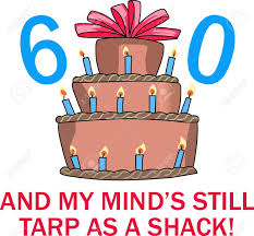 60th Birthday Cake Royalty Free Cliparts Vectors And Stock