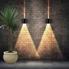 Exterior Garden Wall Lights Us 35 55 7w Led Outdoor Wall Lamps Porch Lights Exterior Round Sconce Lighting Lantern Light Fixture With 2 Cob Led Chips In Outdoor Wall Lamps From