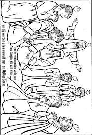 Kleurplaat Pinksteren Parochie Hh Michaël En Clemens
